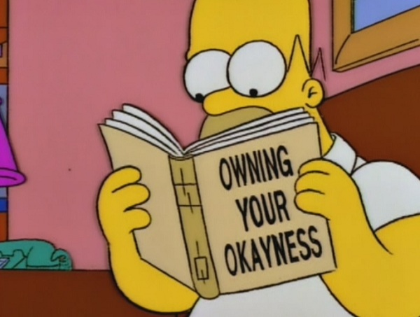 Bart deals with his okayness