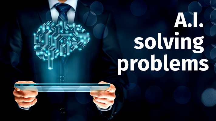 Artificial Intelligence solves problems