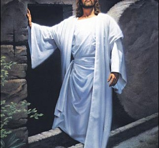 Shhh!  Jesus Steps Out of the Tomb: Easter 2C