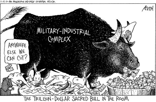 Military Industrial Complex cartoon