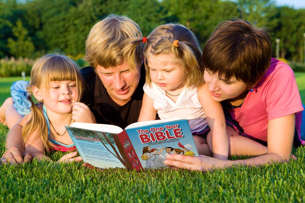 a family shares the story of faith