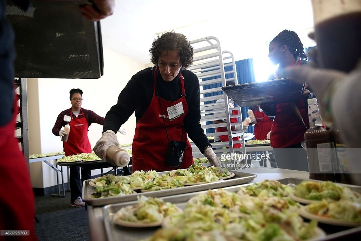 Thanksgiving at a Homeless Shelter