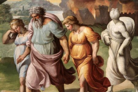 Sodom and Gomorrah  (Genesis 19: 1-11)