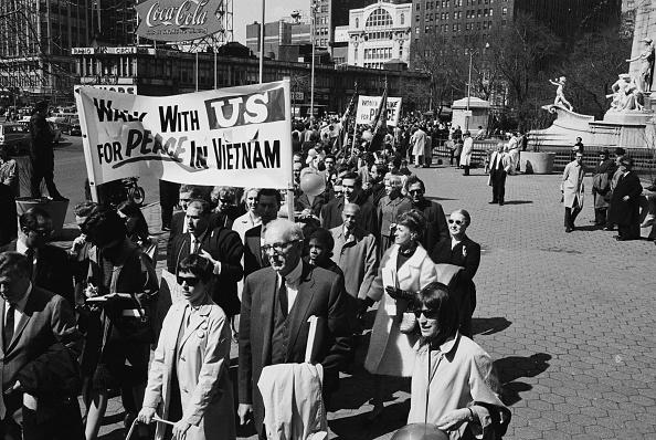 Vietnam Peace Marchers